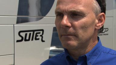 Suter reviews 2012 MotoGP machine's Estoril Test