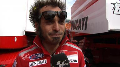 Guareschi outlines Ducati improvements after Test