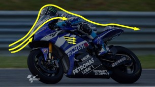 MotoGP aerodynamics with Yamaha and Cardion AB Motoracing