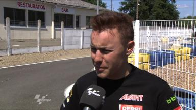 Vazquez previews the French Grand Prix