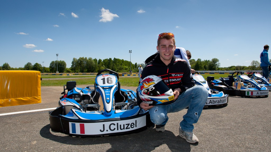 Jules Cluzel, NGM Forward Racing, Le Mans Kart race
