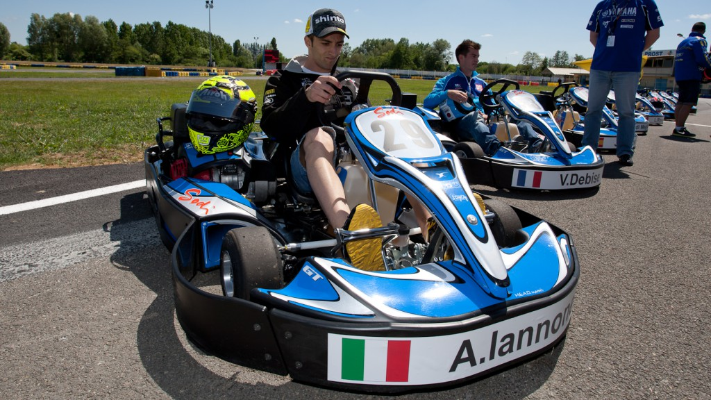 Andrea Iannone, Speed Master, Le Mans Kart race