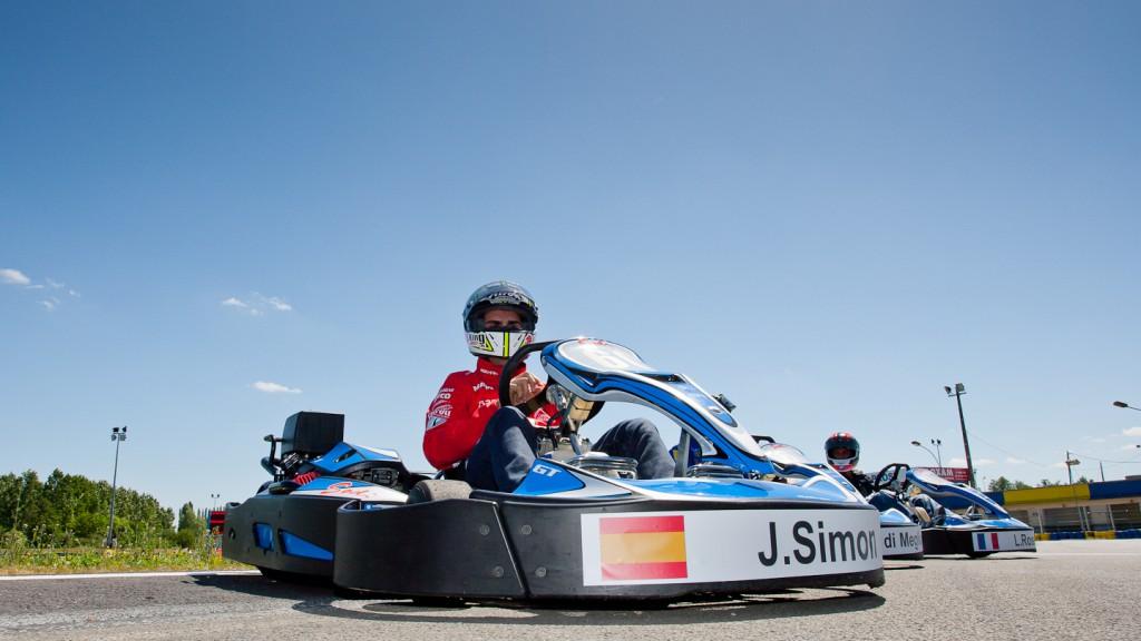 Julian Simon, Mapfre Aspar, Le Mans Karts race