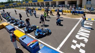 MotoGP Kart race, Le Mans