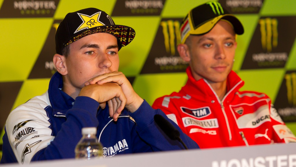 Jorge Lorenzo, Valentino Rossi, Yamaha Factory Racing, Ducati Team, Le Mans