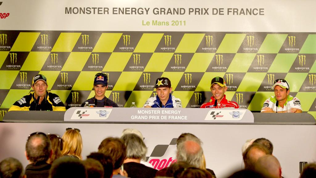 Edwards, Pedrosa, Lorenzo, Rossi, De Puniet, Monster Yamaha  Tech 3, Repsol Honda Team, Ducati Team, Pramac Racing, Le Mans