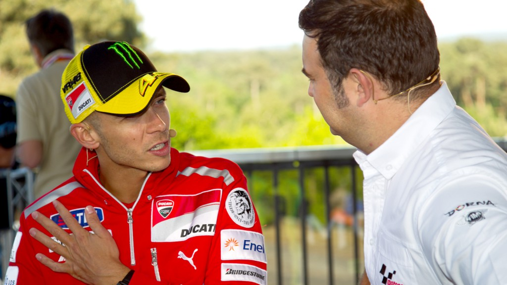 Valentino Rossi, Ducati Team, Monster Energy preevent, Le Mans