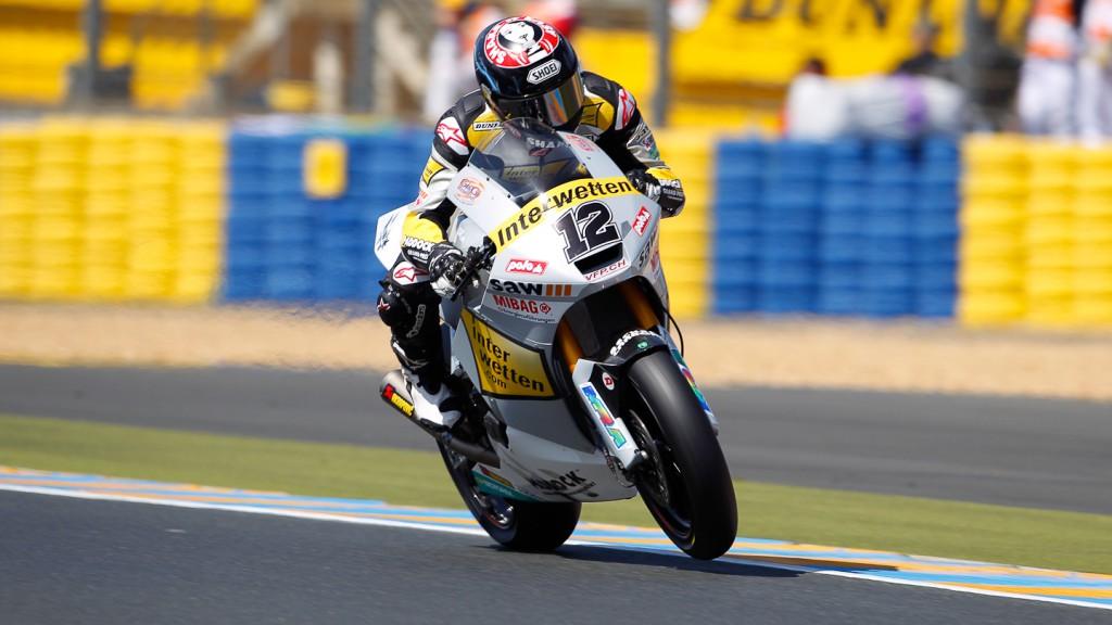 Thomas Luthi, Interwetten Paddock Moto2, Le Mans FP2