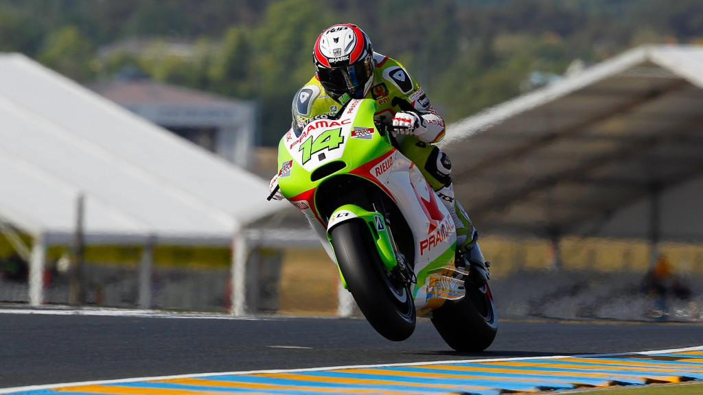 Randy de Puniet, Pramac Racing Team, Le Mans FP2