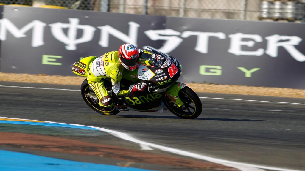 Nico Terol, Bankia Aspar Team, Le Mans FP2
