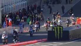 La catégorie 125cc a ouvert le Grand Prix Monster Energy de France vendredi matin au Mans et c'est Nico Terol, le leader du Championnat, qui s'est chargé d'établir le temps de référence.