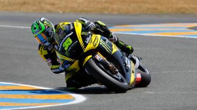 Cal Crutchlow, Monster Yamaha Tech 3, Le Mans FP2