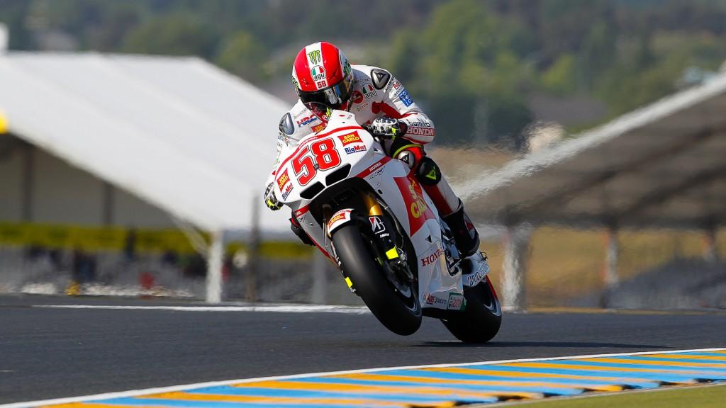 Marco Simoncelli, San Carlo Honda Gresini, Le Mans FP2