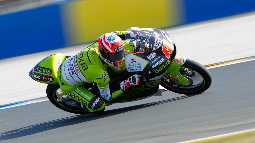 Nico Terol, Bankia Aspar Team, Le Mans FP1