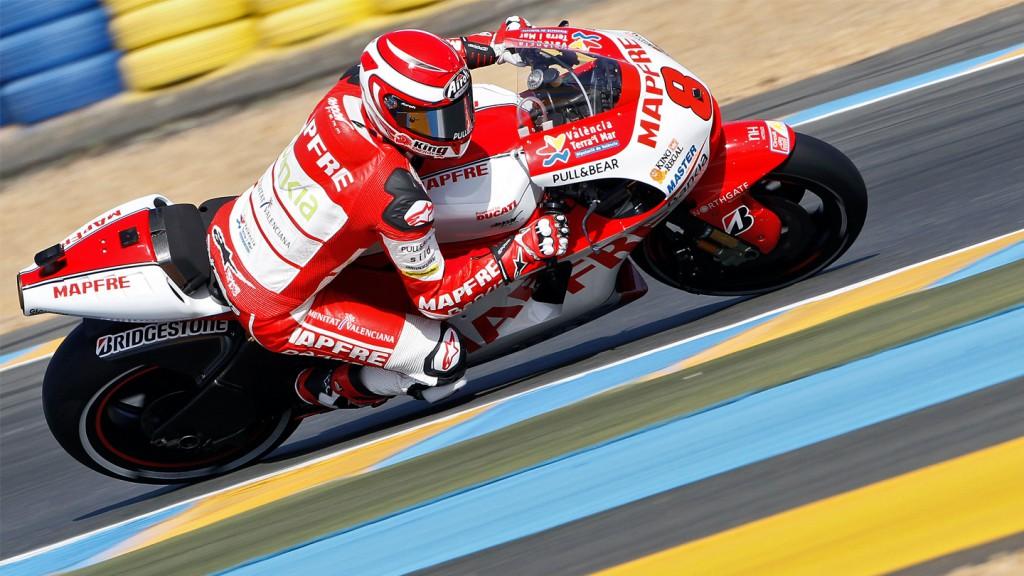Hector Barbera, Mapfre Aspar Team MotoGP, Le Mans FP2
