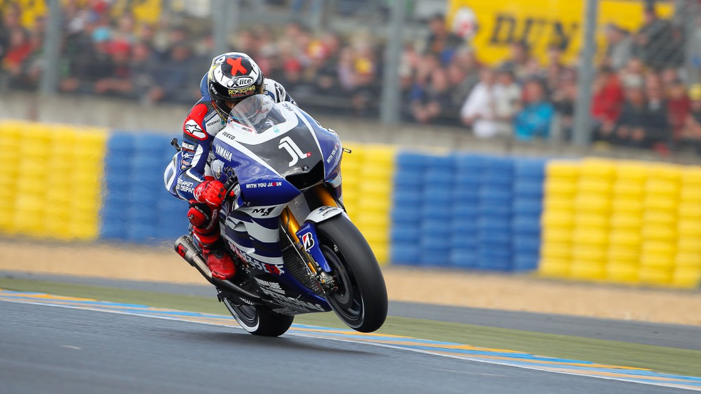 Jorge Lorenzo, Yamaha Factory Racing, Le Mans QP