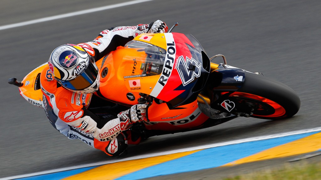 Andrea Dovizioso, Repsol Honda, Le Mans QP
