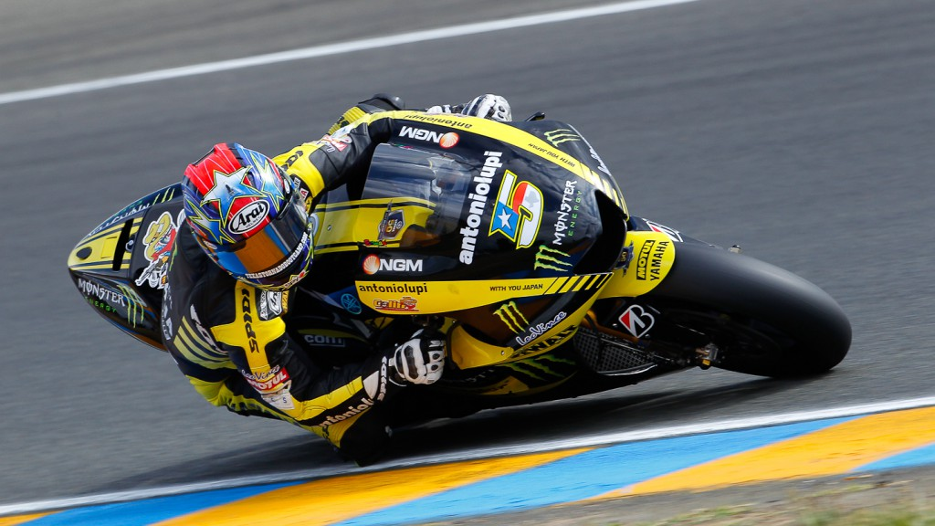 Colin Edwards, Monster Yamaha Tech 3, Le Mans QP
