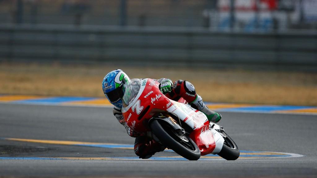 Efren Vazquez, Avant-AirAsia-Ajo, Le Mans QP