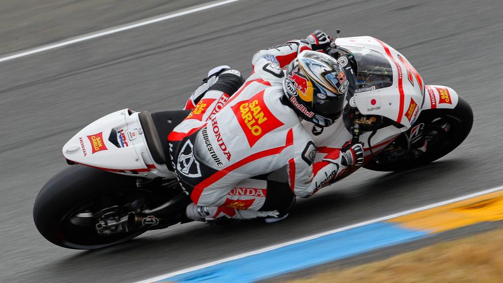 Hiroshi Aoyama, San Carlo Honda Gresini, Le Mans QP