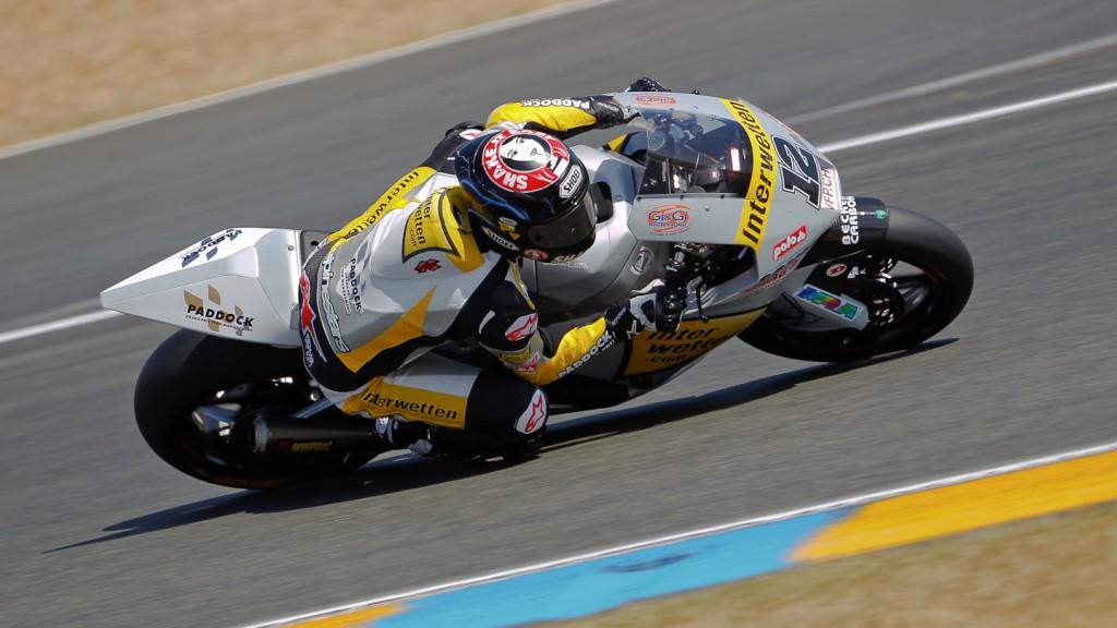 Thomas Luthi, Interwetten Paddock Moto2, Le Mans QP