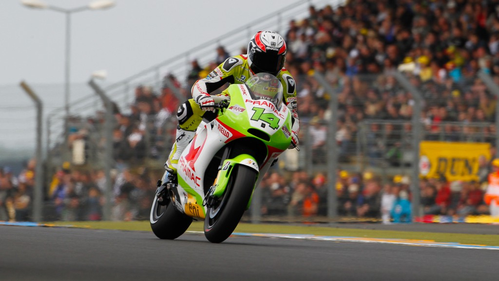 Randy de Puniet, Pramac Racing Team, Le Mans QP