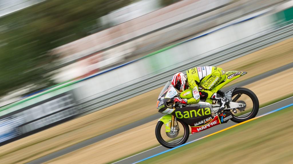 Nico Terol, Bankia Aspar Team, Le Mans QP