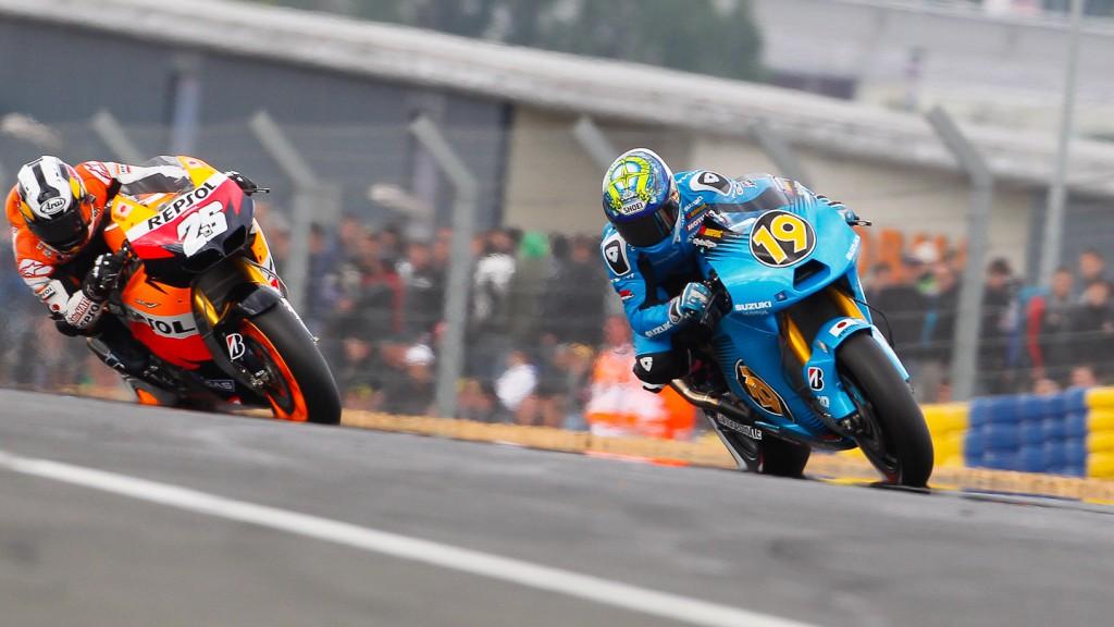 Alvaro Bautista, Dani Pedrosa, Rizla Suzuki MotoGP, Repsol Honda, Le Mans QP