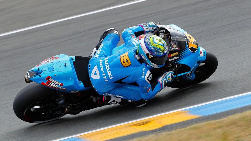 Alvaro Bautista, Rizla Suzuki MotoGP, Le Mans QP