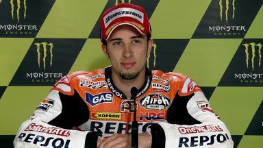 Le Mans 2011 - MotoGP - QP - Interview - Andrea Dovizioso