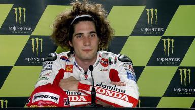 Le Mans 2011 - MotoGP - QP - Interview - Marco Simoncelli