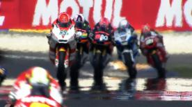 Championship leader Stefan Bradl (Viessmann Kiefer Racing) set pole position for this weekend's Moto2 Monster Energy Grand Prix de France. Thomas Lüthi (Interwetten Paddock Moto2) and Yuki Takahashi (Gresini Racing) will join Bradl on the front row for Sunday's race.