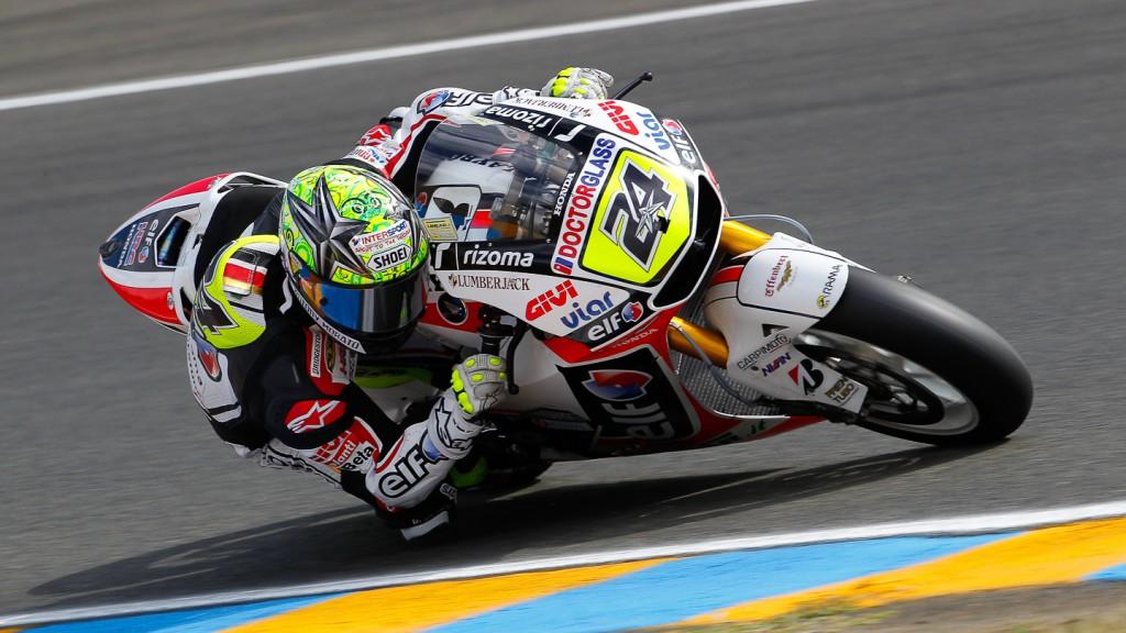 Toni Elias, LCR Honda MotoGP, Le Mans QP