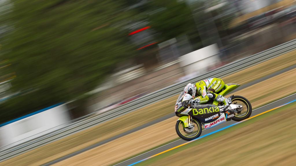 Adrian Martin, Bankia Aspar Team 125cc, Le Mans QP