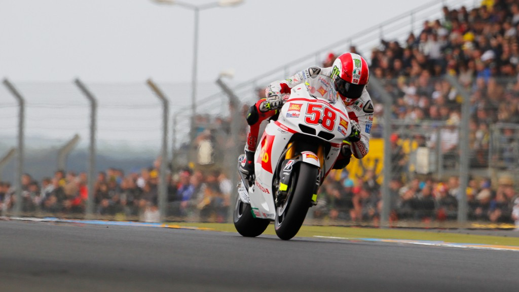Marco Simoncelli, San Carlo Honda Gresini, Le Mans QP