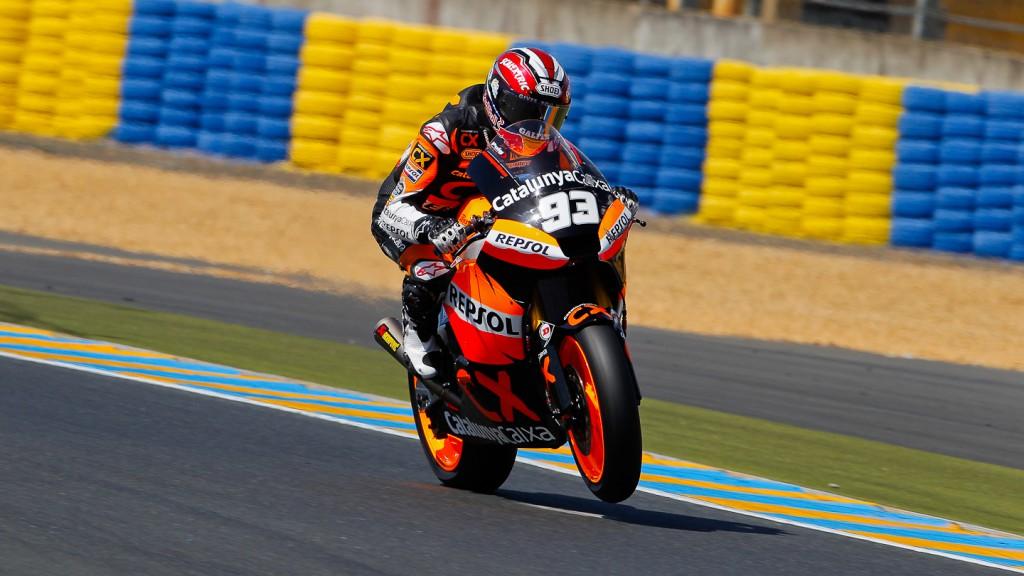 Marc Marquez, Team Catalunya Caixa Repsol, Le Mans QP