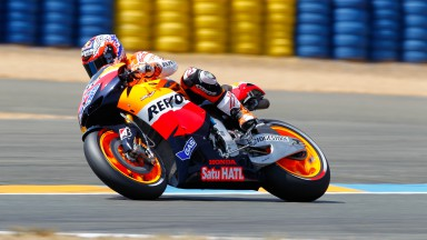Casey Stoner, Repsol Honda Team, Le Mans FP3