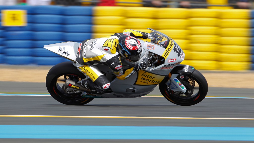 Thomas Luthi, Interwetten Paddock Moto2, Le Mans WU