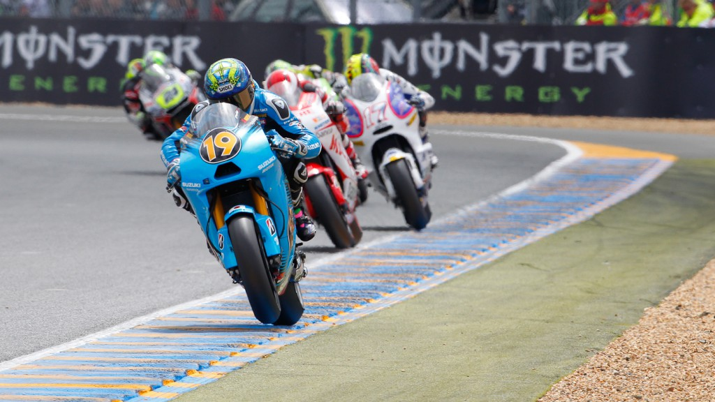 Alvaro Bautista, Rizla Suzuki MotoGP, Le Mans RAC