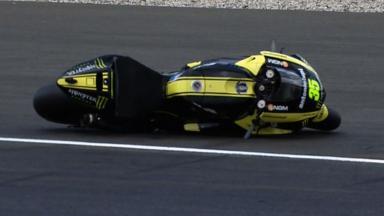 Le Mans 2011 - MotoGP - Race - Action - Cal Crutchlow - Crash