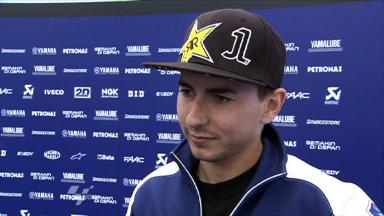 Lorenzo on his fight for fourth in France