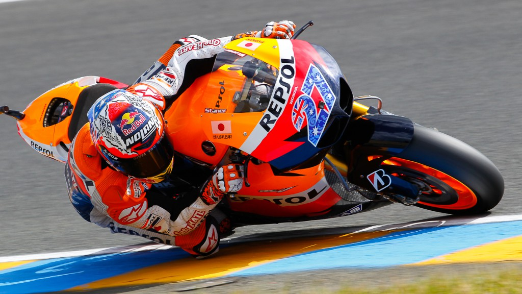 Casey Stoner, Repsol Honda, Le Mans RAC
