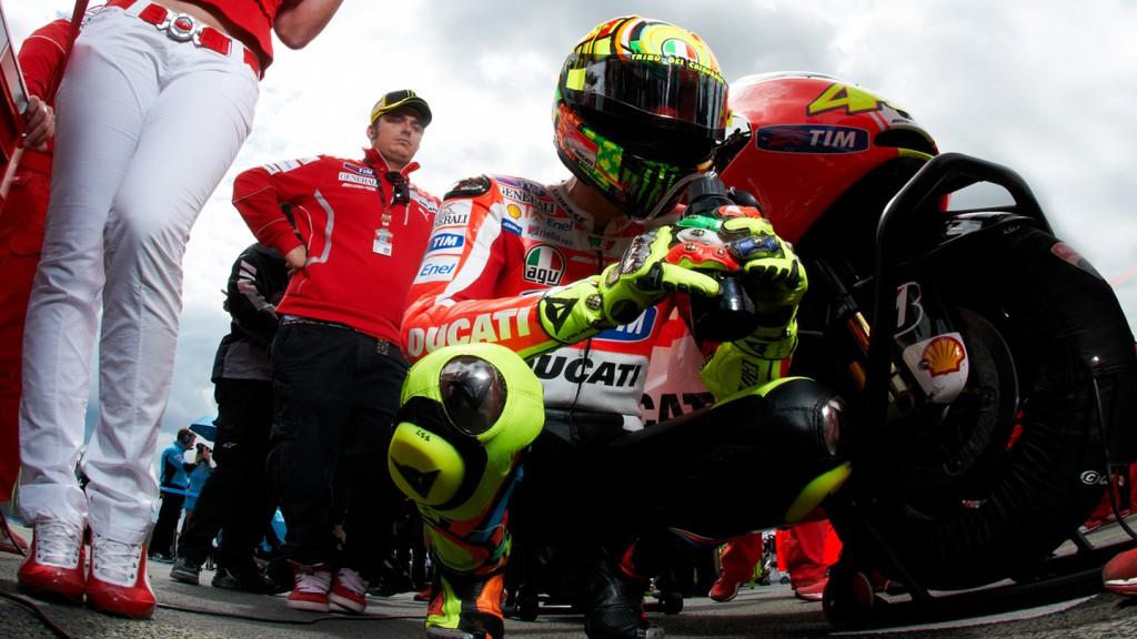 Valentino Rossi, Ducati Team, Le Mans RAC - © Copyright Alex Chailan & David Piolé