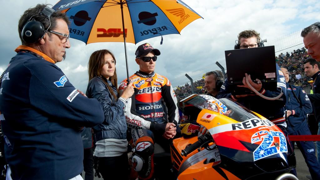 Casey Stoner, Repsol Honda Team, Le Mans RAC - © Copyright Alex Chailan & David Piolé