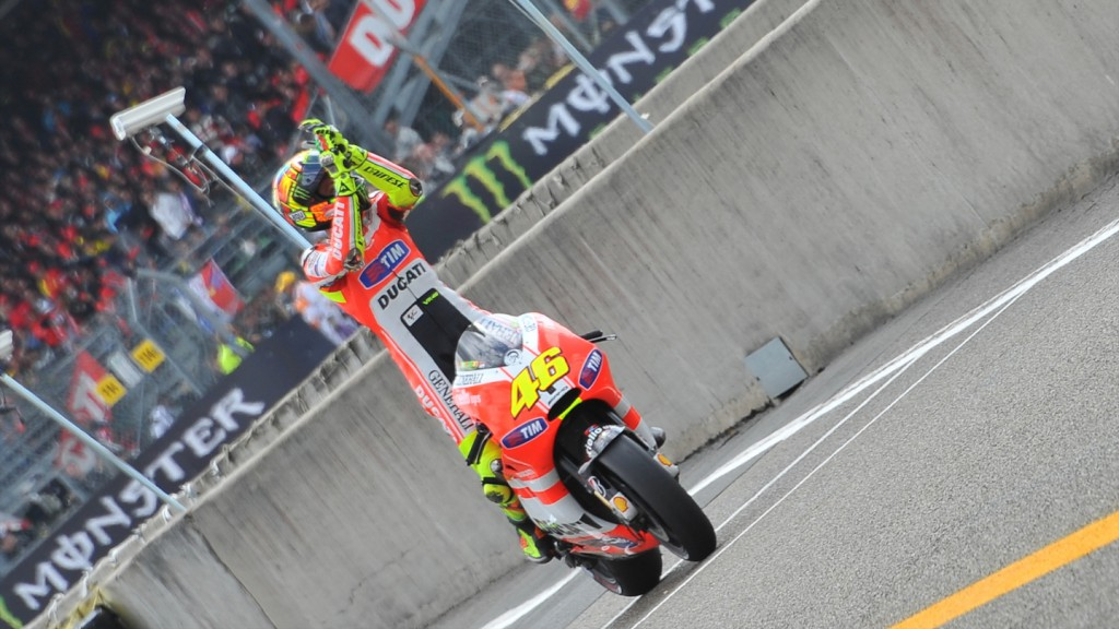 Valentino Rossi, Ducati Team, Le Mans