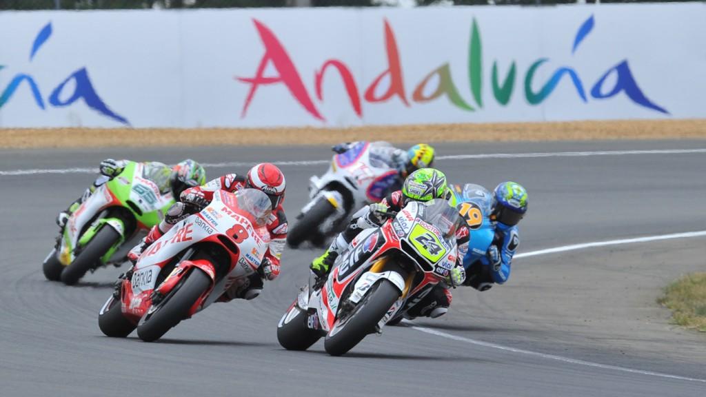 Toni Elias, Hector Barbera, LCR Honda MotoGP, Mapfre Aspar Team MotoGP, Le Mans RAC