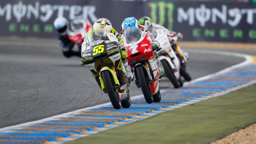Hector Faubel, Efren Vazquez Bankia Aspar Team 125cc, Avant-AirAsia-Ajo, Le Mans RAC