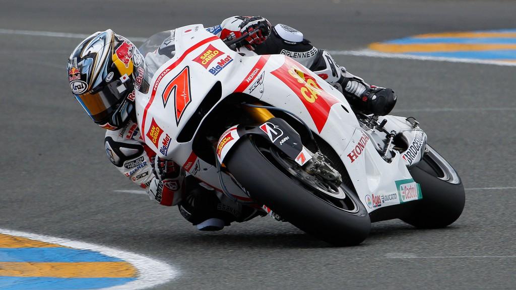 Hiroshi Aoyama, San Carlo Honda Gresini, Le Mans RAC
