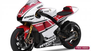 Yamaha YZR-M1 MotoGP 50th Anniversary Edition livery