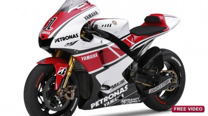 Las Yamaha lucirán una decoración especial en Assen y Laguna Seca